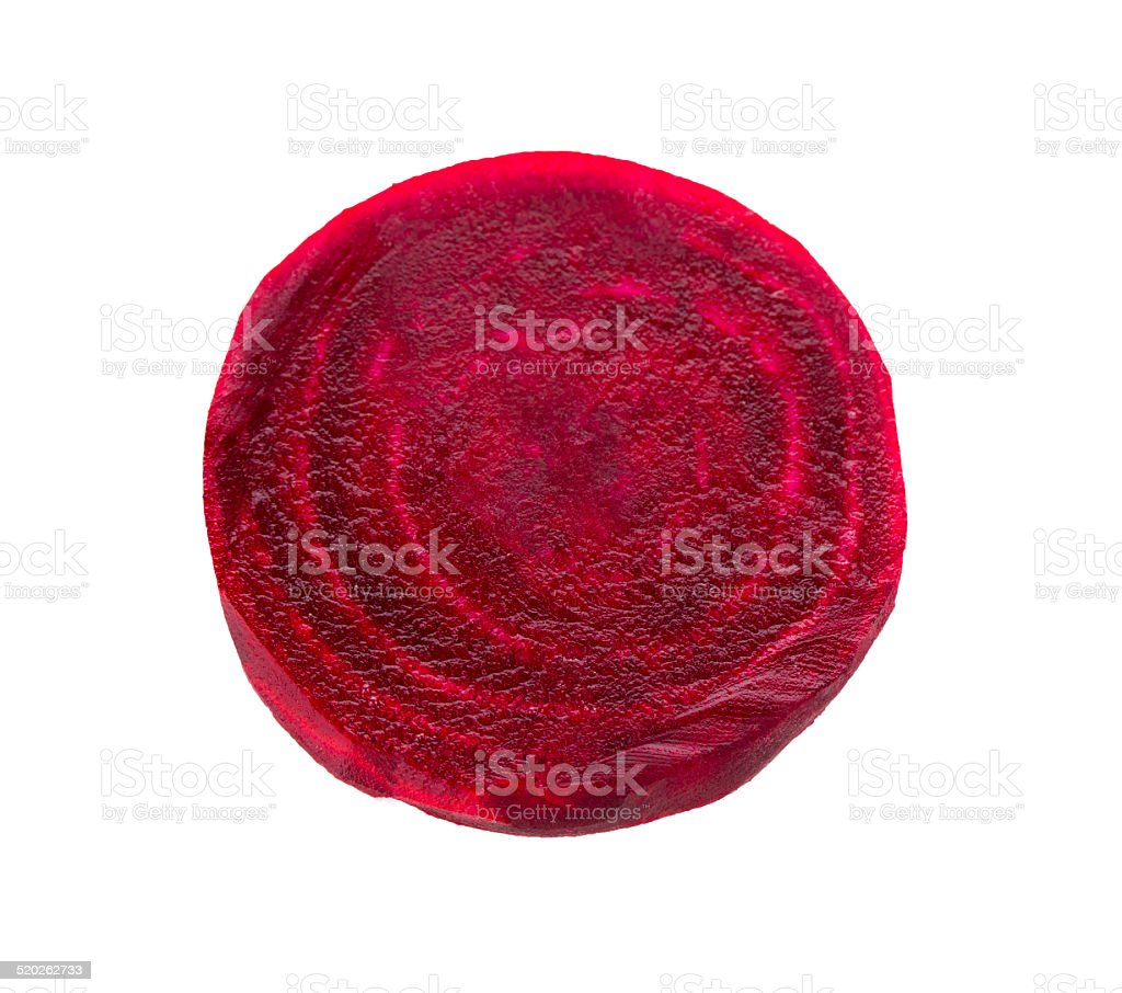 Beet portion on white- Stock Image stock photo