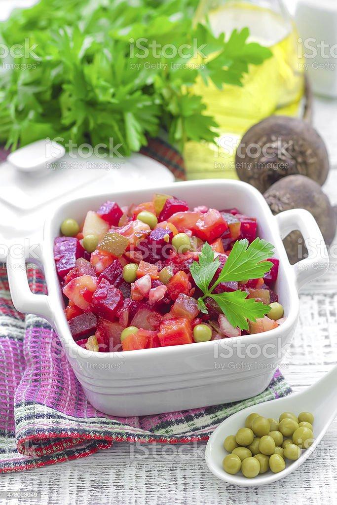 Beet salad royalty-free stock photo