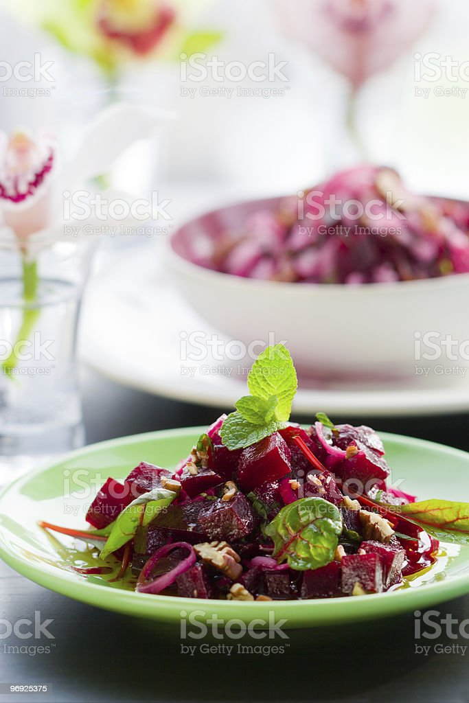 beet salad royalty-free stock photo
