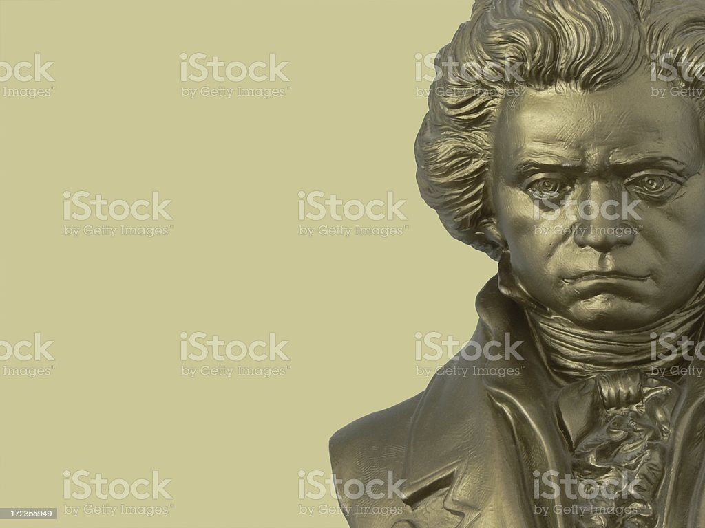 Beethoven Composer bust stock photo