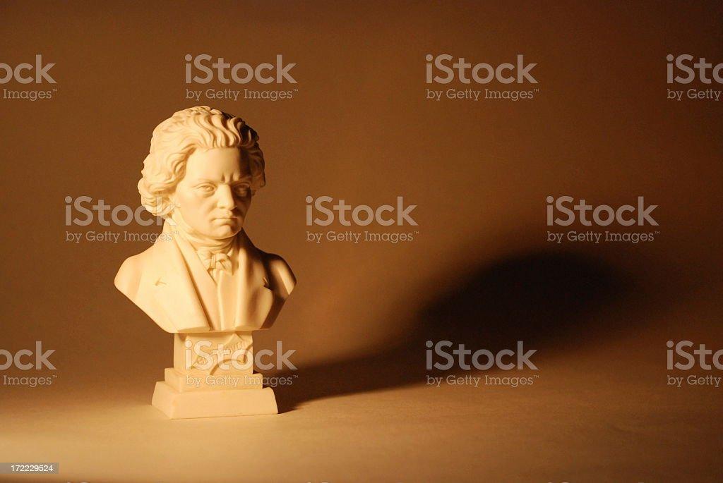 Beethoven Statue stock photo
