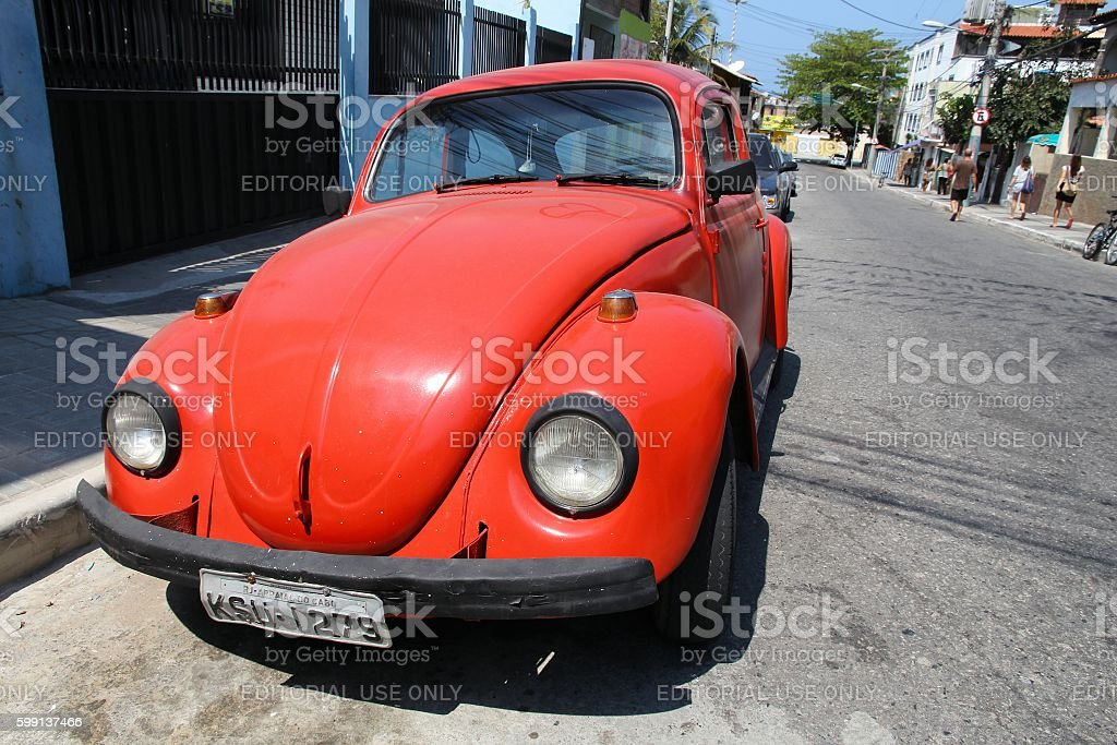 VW Beetle in Brazil stock photo