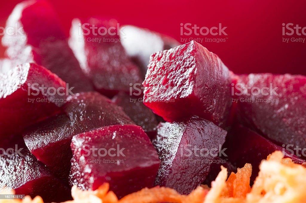 Beetroot salad royalty-free stock photo