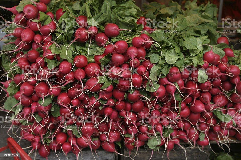 Beets at Market royalty-free stock photo