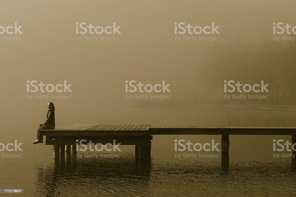 Befogged Dreaming stock photo