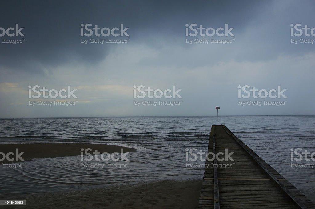 嵐の前に ロイヤリティフリーストックフォト