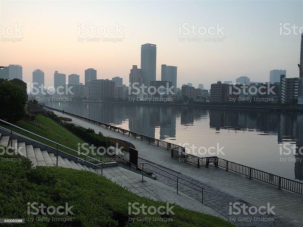 Antes de nascer do sol foto de stock royalty-free
