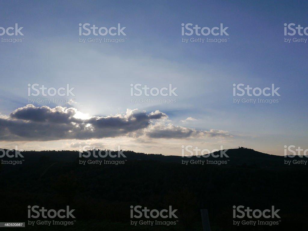 Before Sunset. stock photo