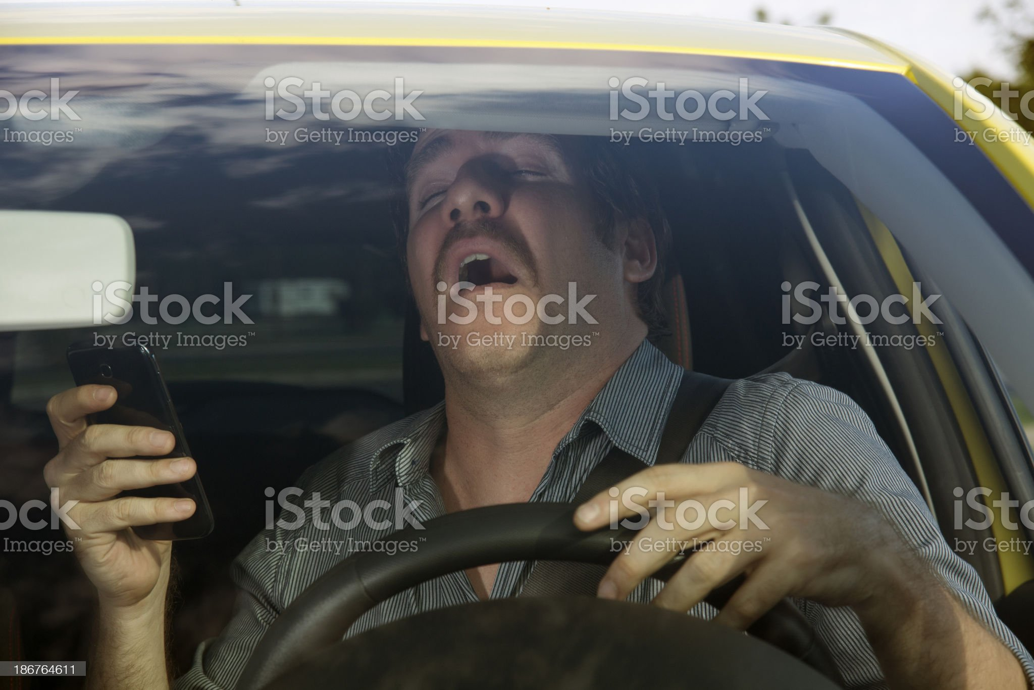 Before the accident royalty-free stock photo