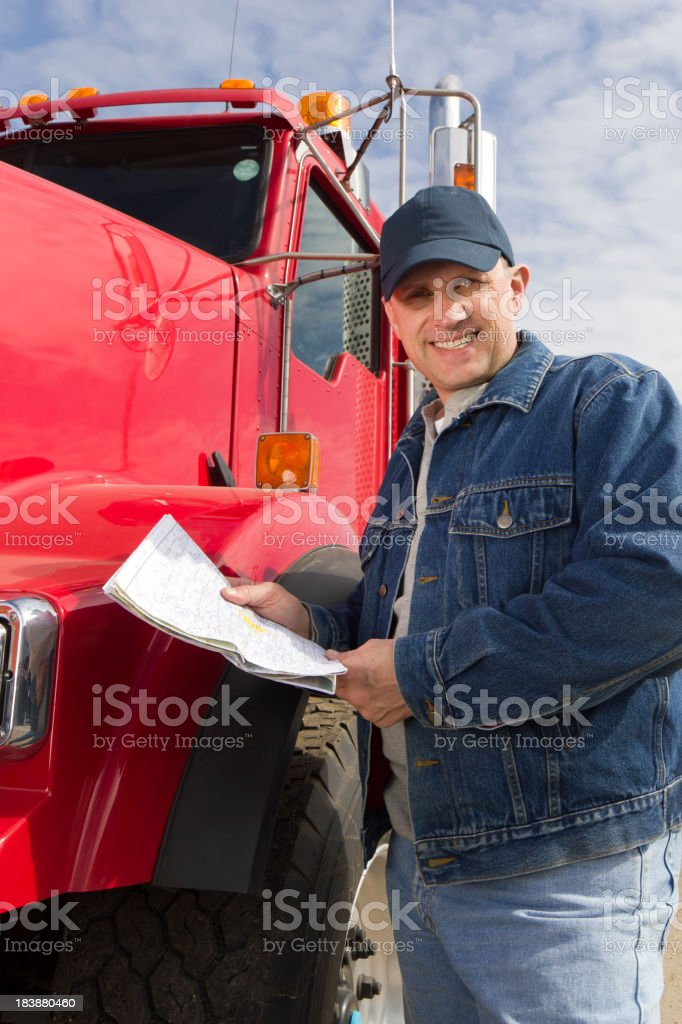 Before the Haul royalty-free stock photo
