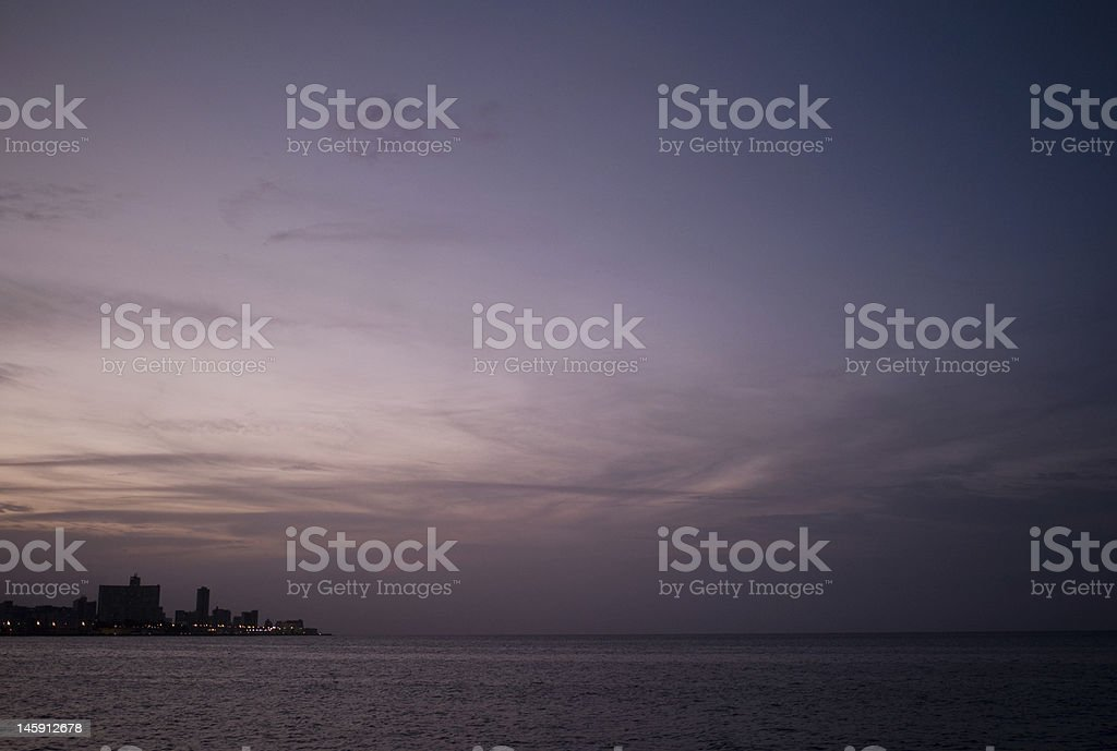 Before the Lights Go Out royalty-free stock photo