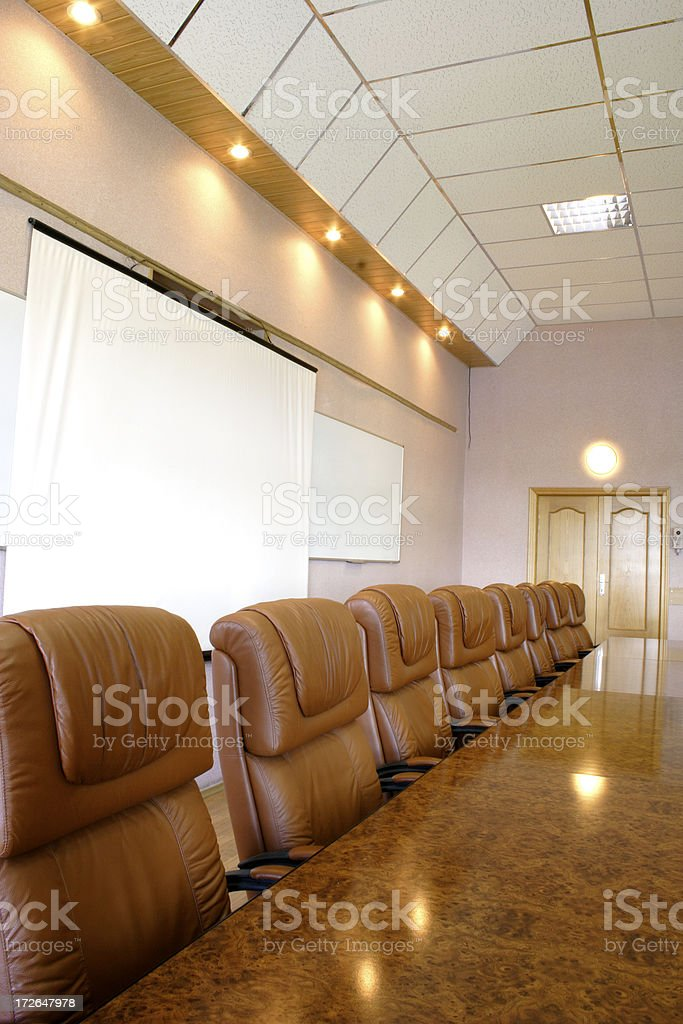 Before the meeting royalty-free stock photo