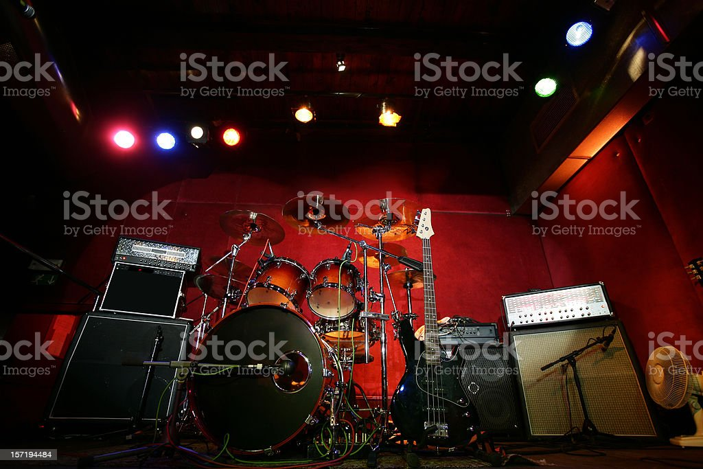 Before the Rock Concert royalty-free stock photo