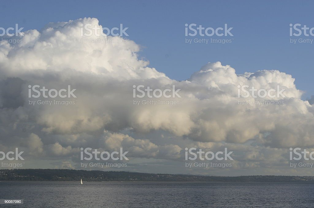Before the storm royalty-free stock photo