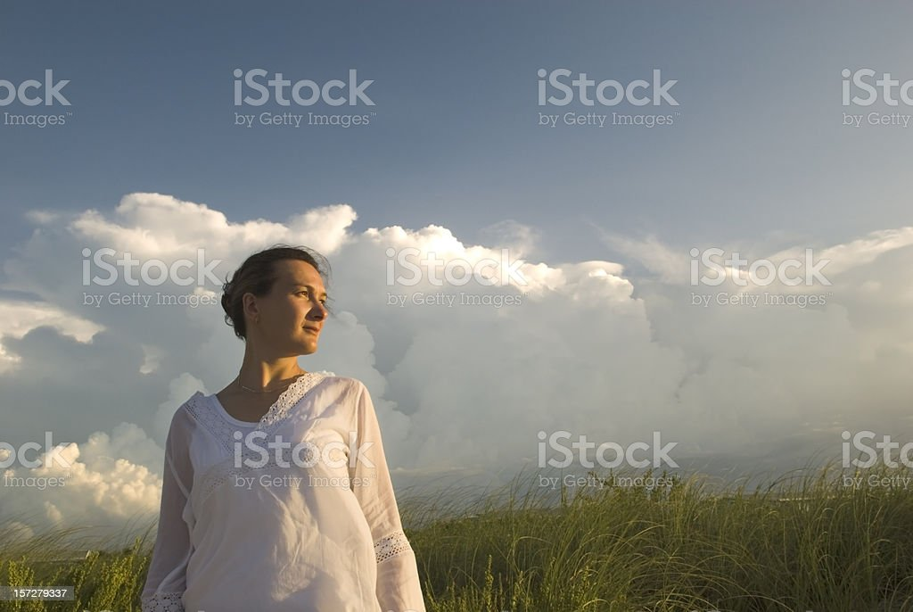 Before Tropical Storm royalty-free stock photo
