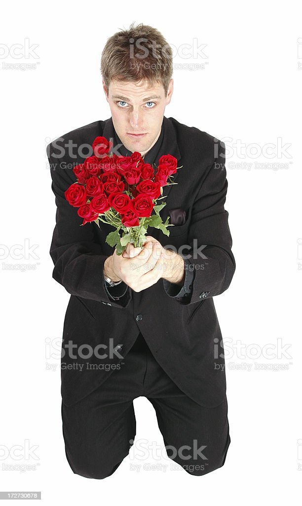 Begging for Forgiveness stock photo