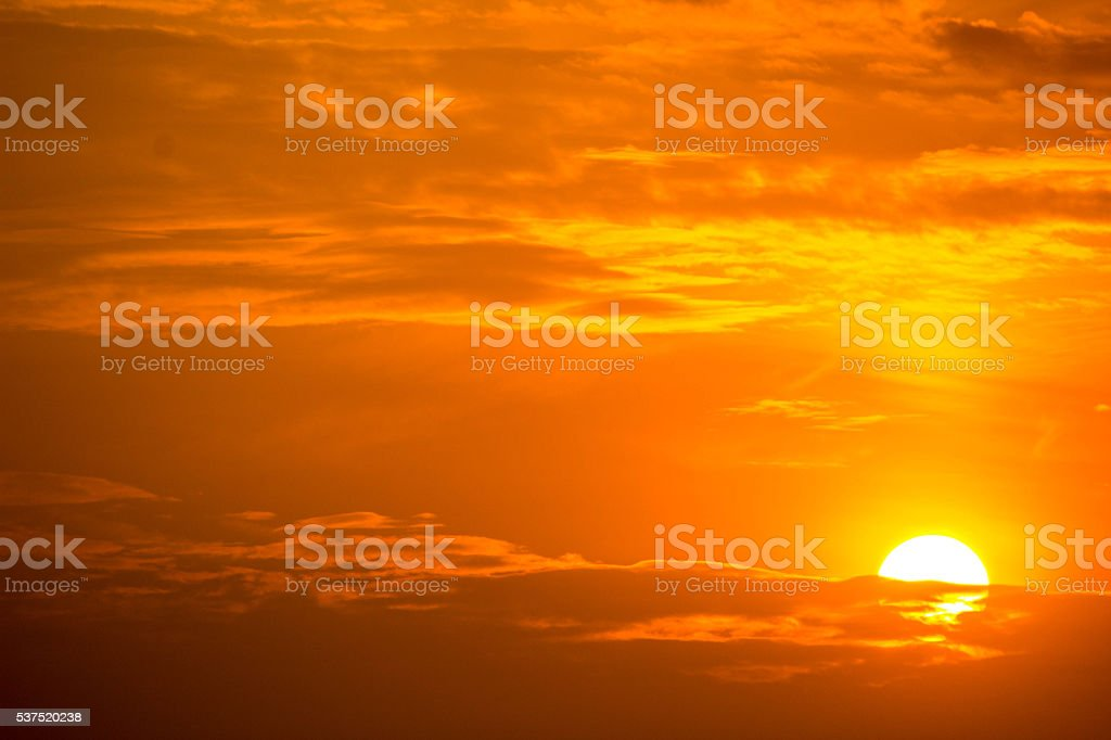 Beggining of The Day stock photo