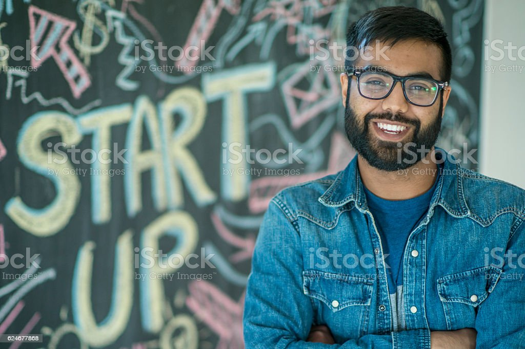 Beginning a Start Up Company stock photo