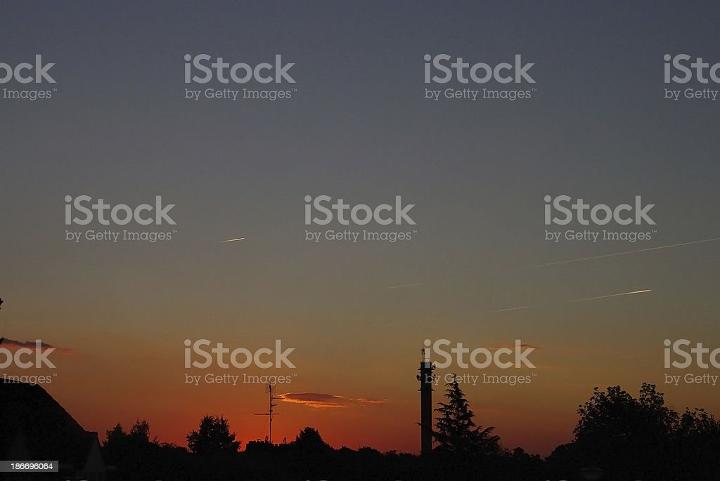 Beginning of a new day royalty-free stock photo