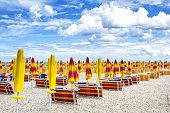 Beginning of the tourist season in Italy.