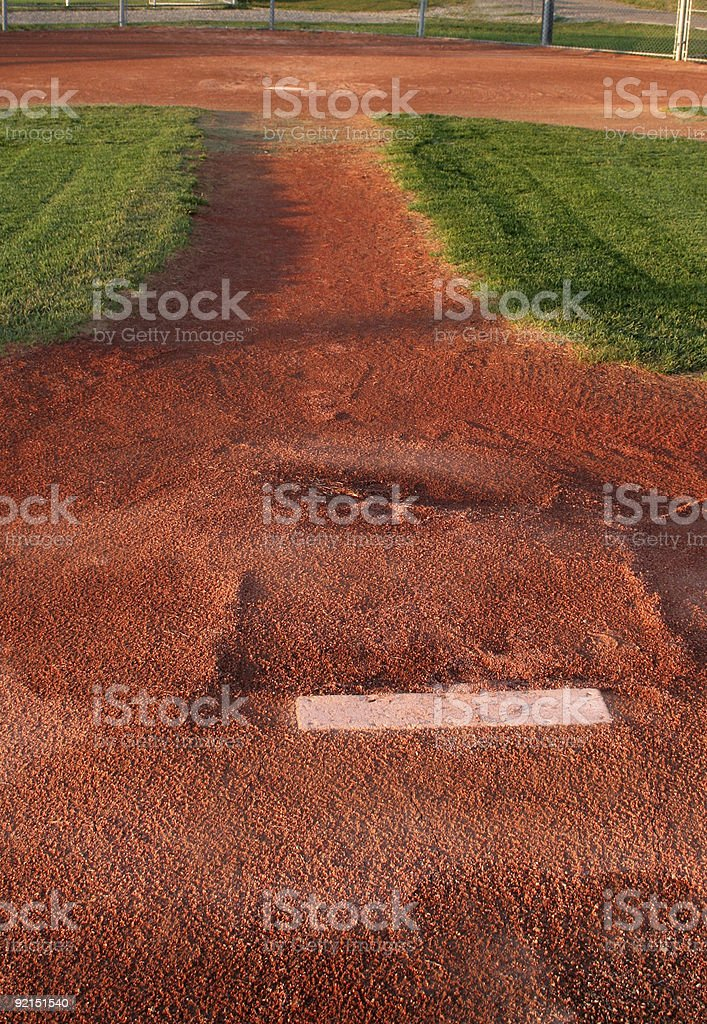 Behind the Mound royalty-free stock photo