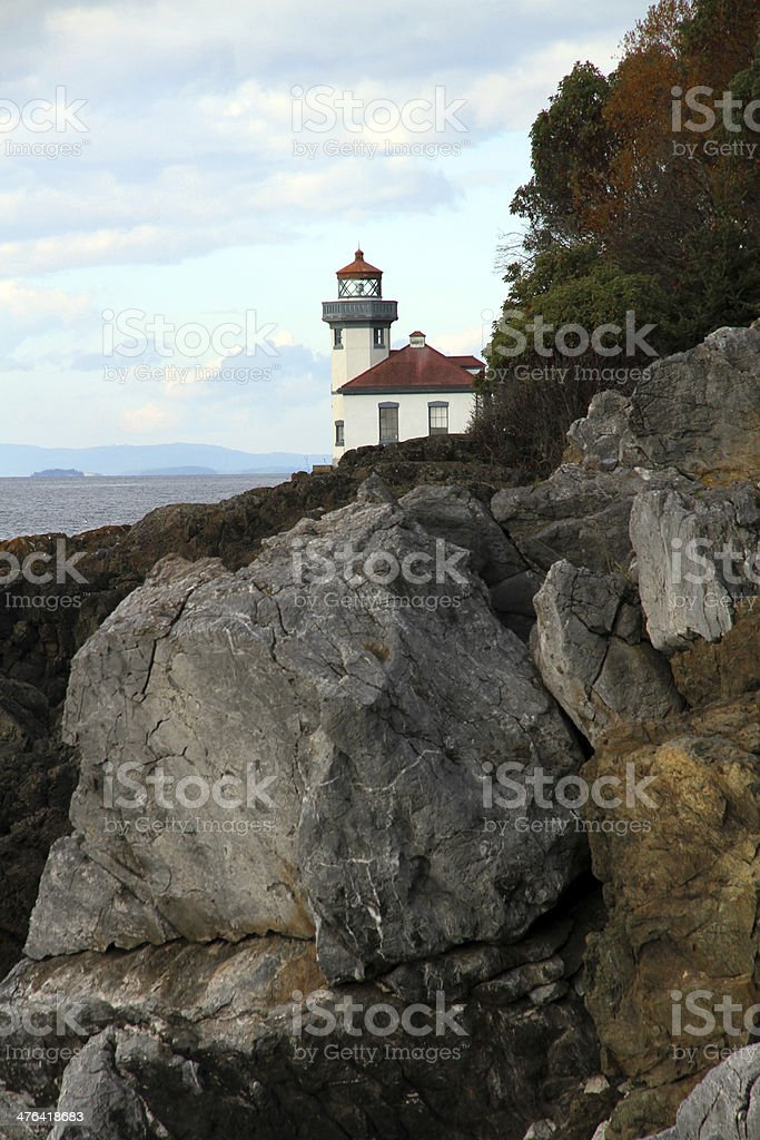 Behind the Rocks royalty-free stock photo
