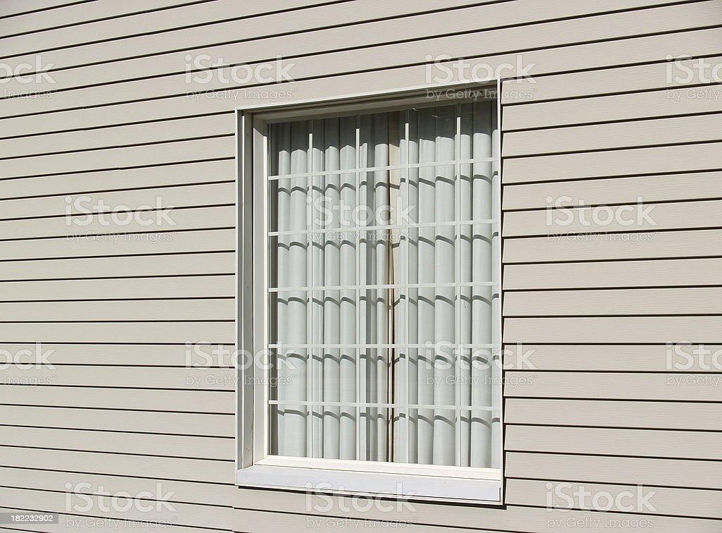 Behind The Window stock photo