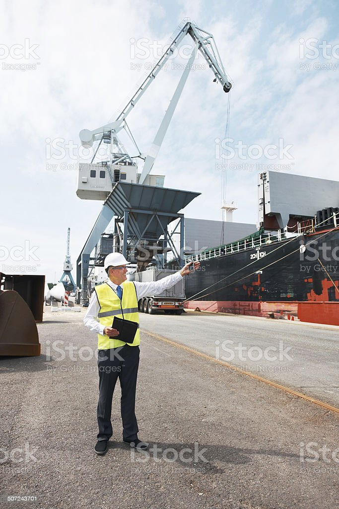 Behold the product of exceptional engineering stock photo