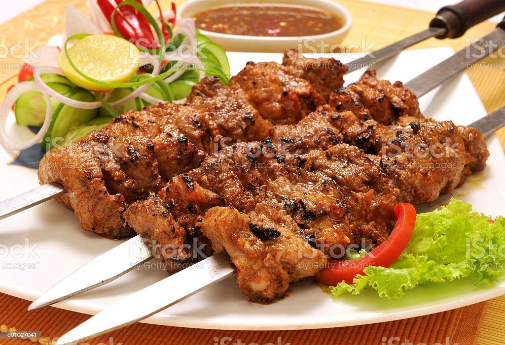 Behrai Kabab-1 stock photo