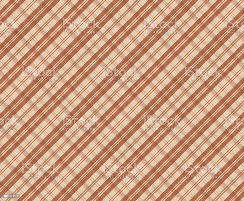 Beige and White Gingham Tablecloth Pattern stock photo