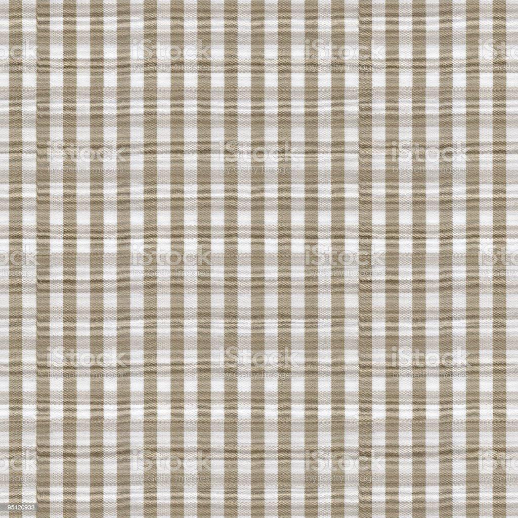 beige y manteles blancos patrn cuadro vichy foto de stock libre de derechos