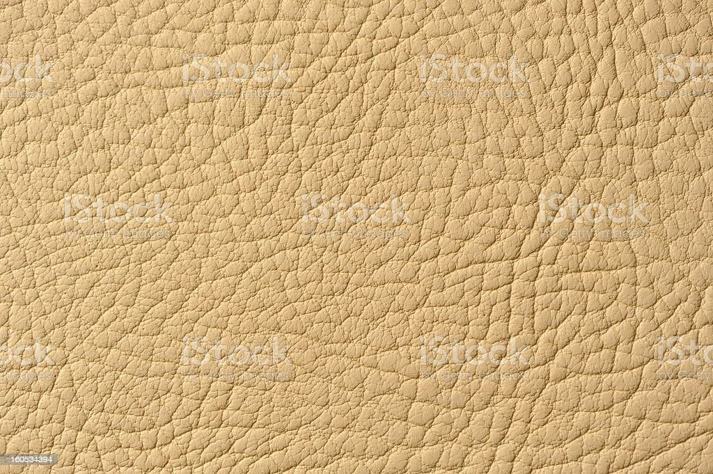 Beige Artificial Leather Texture royalty-free stock photo