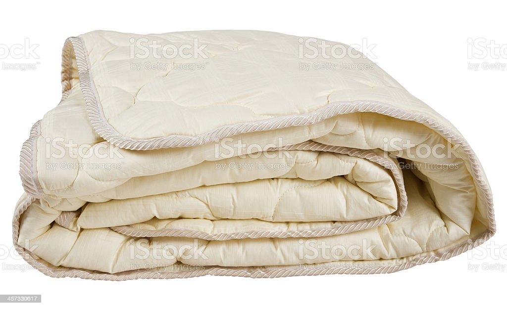 beige blanket stock photo