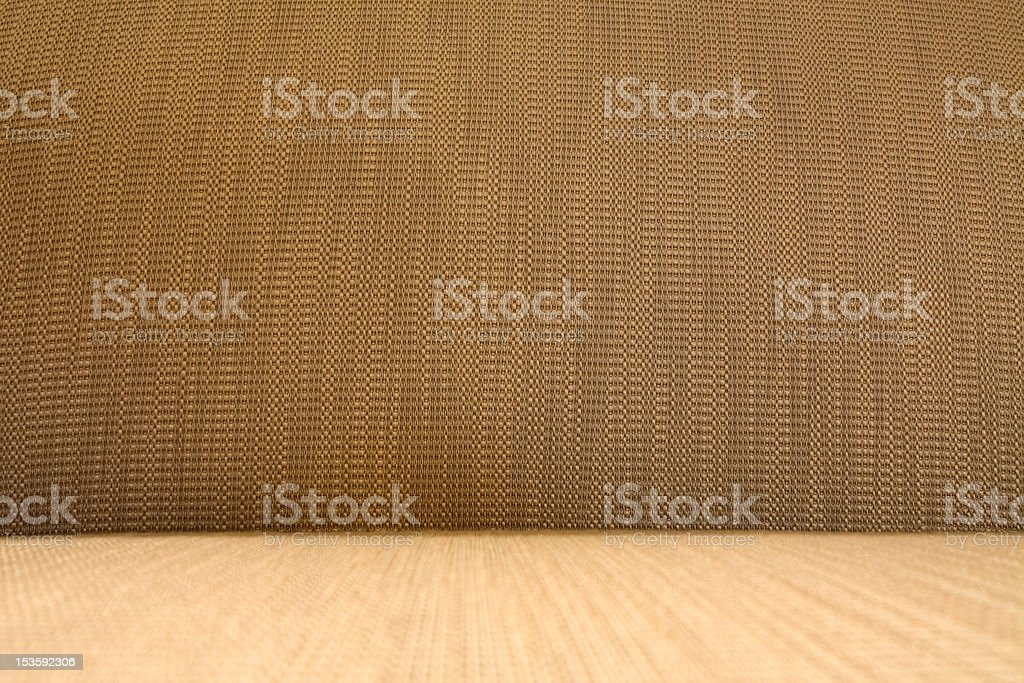 Beige burlap texture stock photo