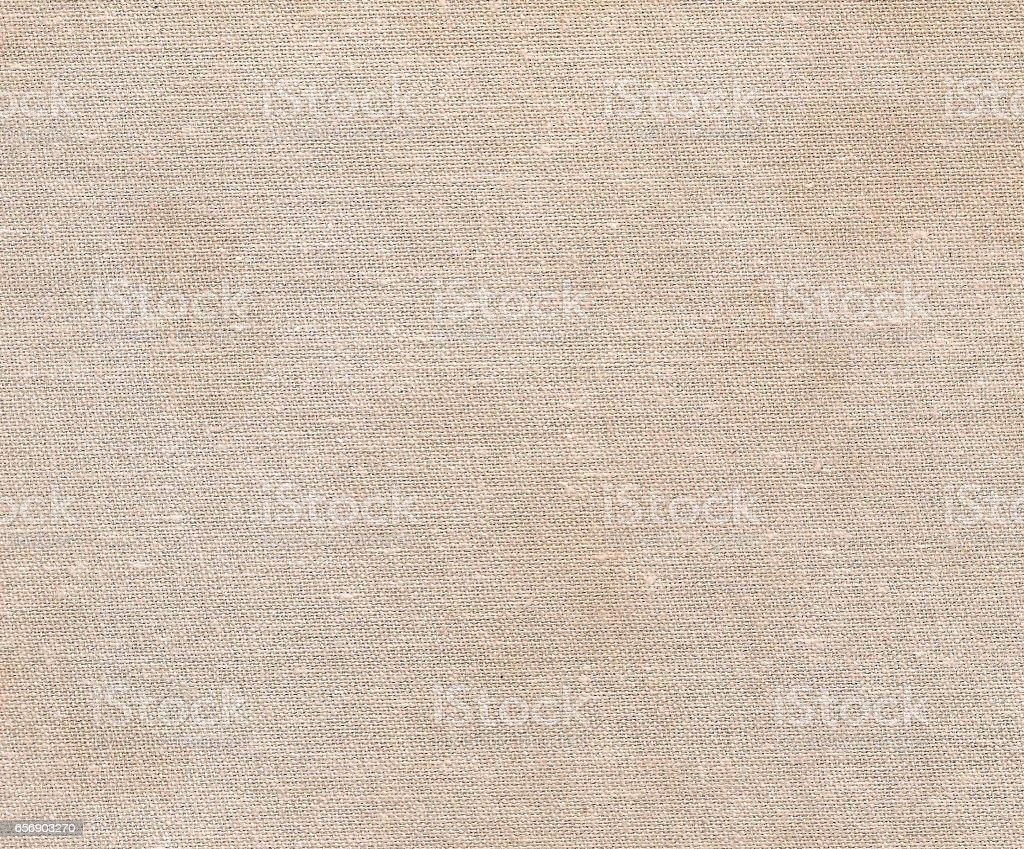 Beige color cotton cloth pattern stock photo