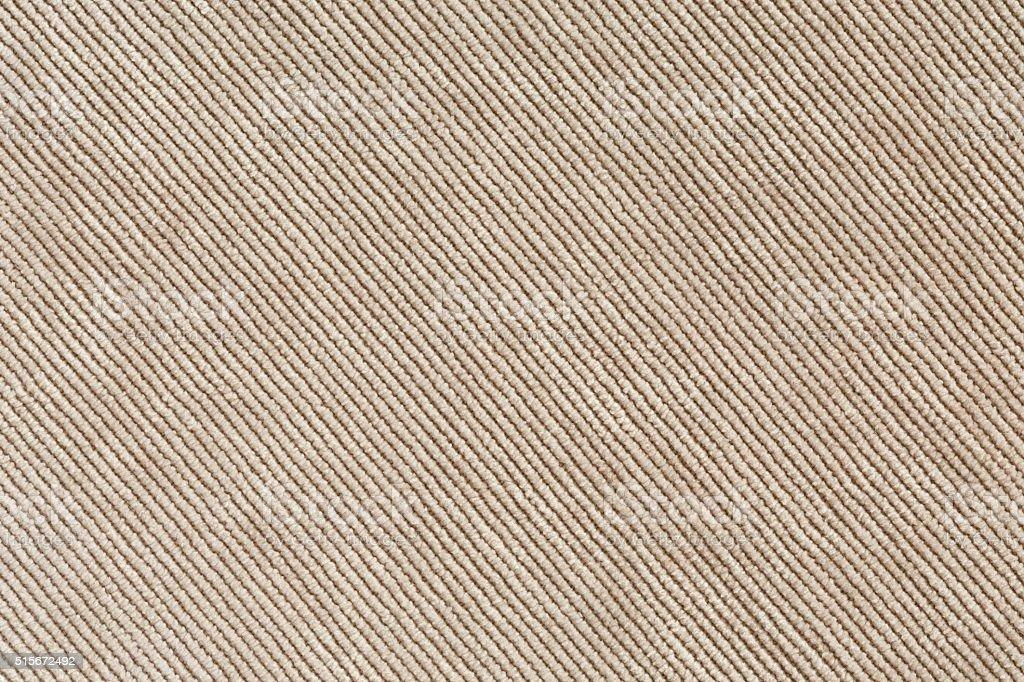 Beige Denim Texture diagonal Direction of Threads stock photo
