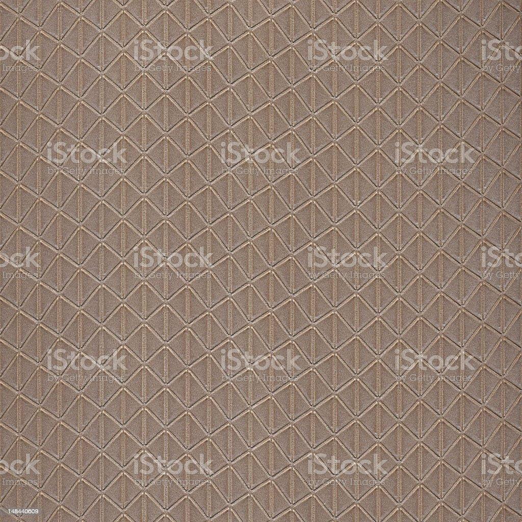 Beige Diamond Pattern Wallpaper royalty-free stock photo