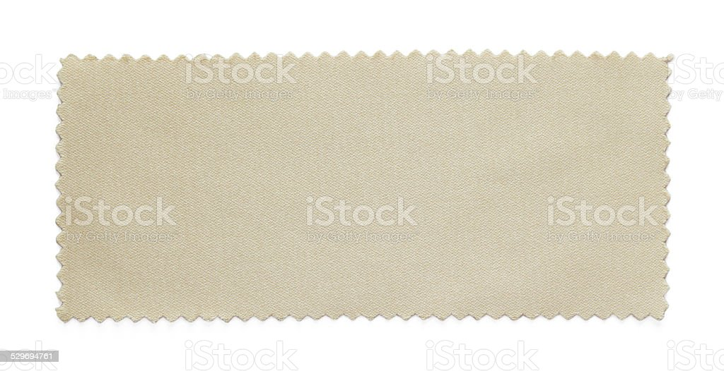beige fabric swatch samples stock photo