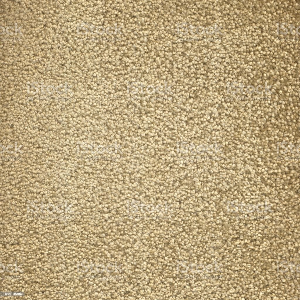 Beige Fluffy Carpet royalty-free stock photo