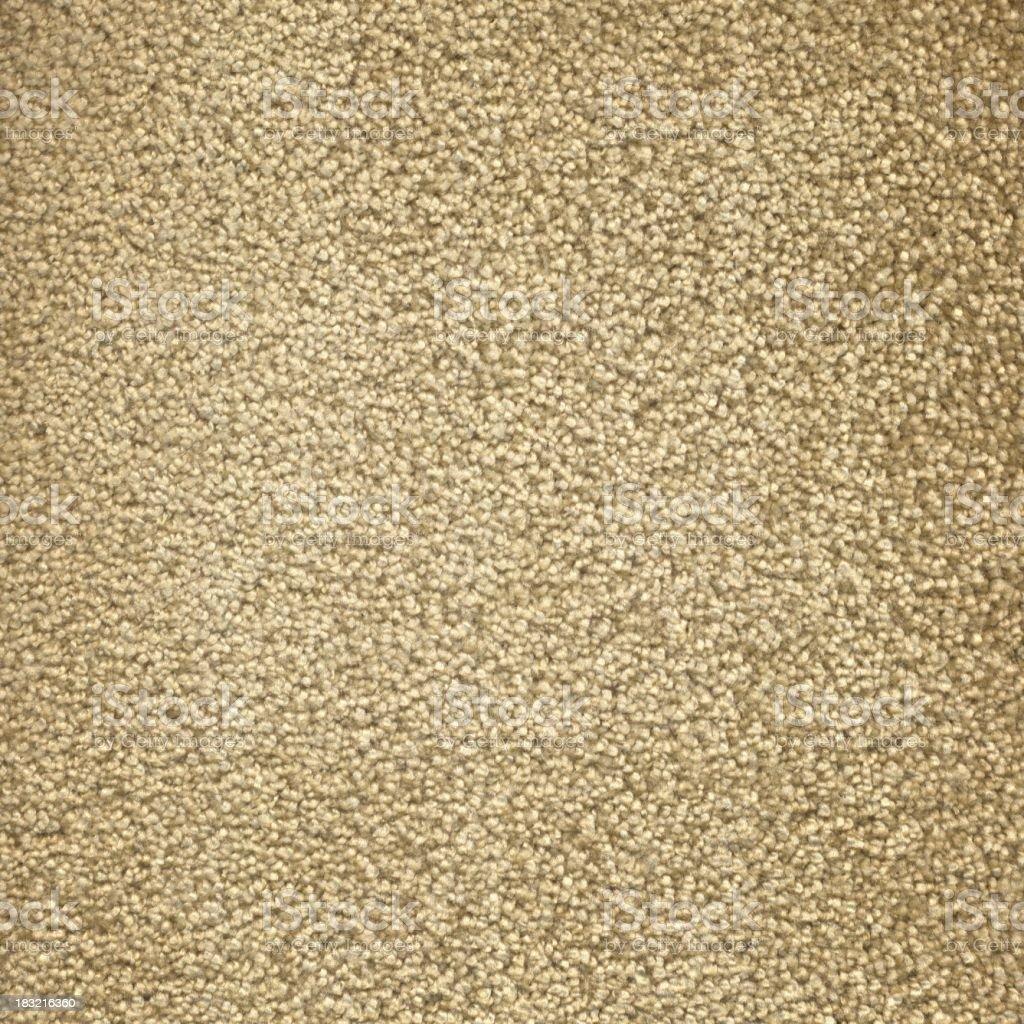 Beige Fluffy Carpet stock photo