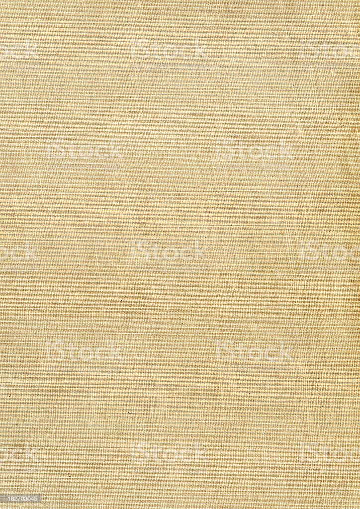 Beige grunge canvas texture royalty-free stock photo