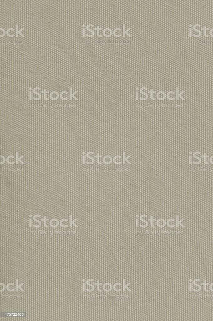 Beige Khaki Cotton Fabric Texture Background, Detailed Macro Closeup Vertical stock photo
