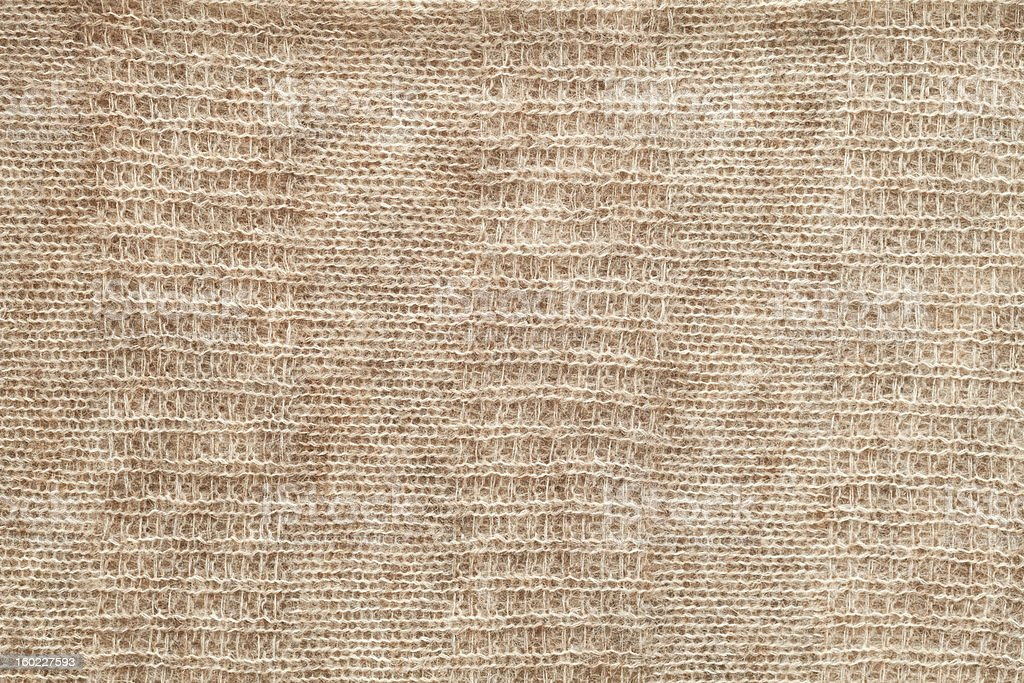 Beige knit Background royalty-free stock photo