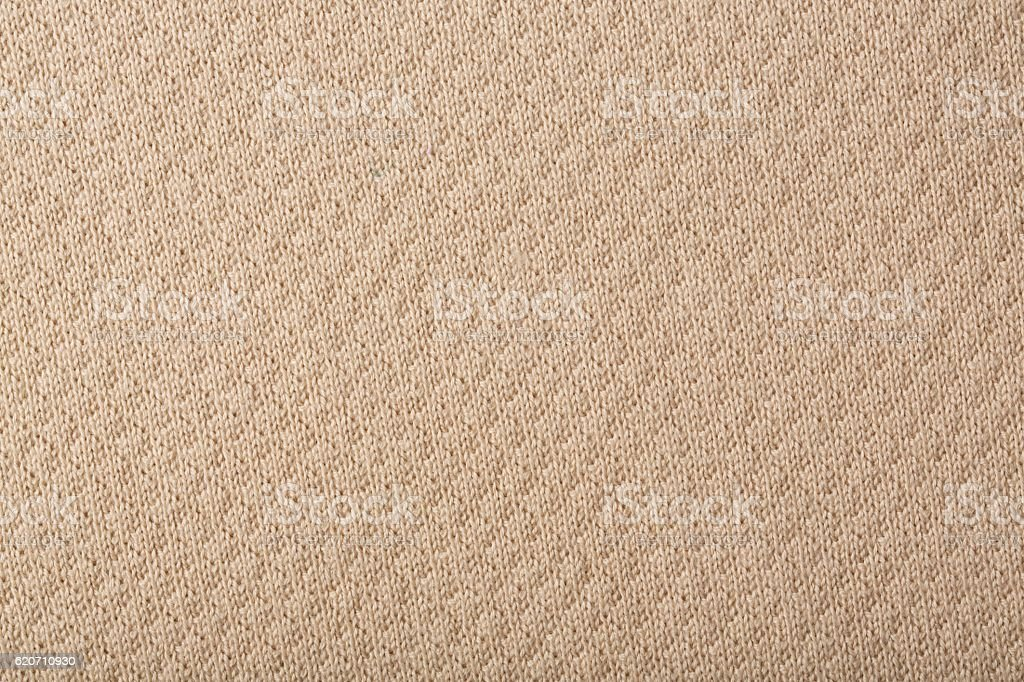 Beige knitted man's sweater stock photo