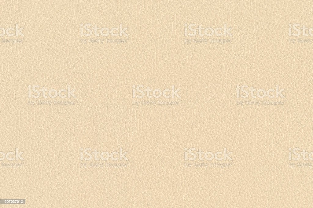Beige leather texture as background stock photo