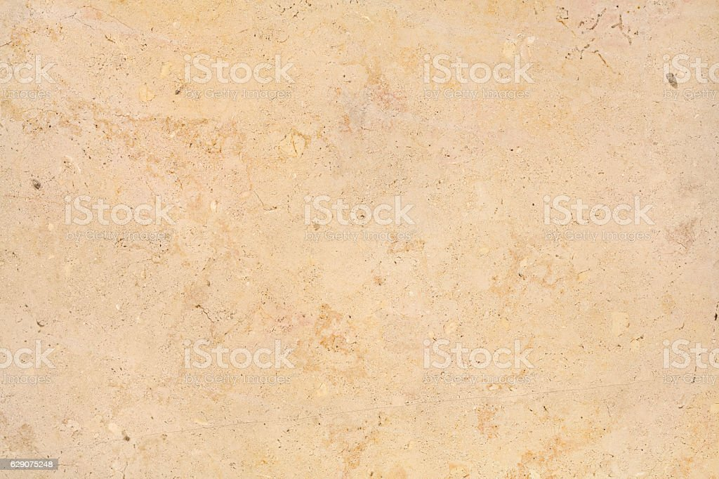 Beige light warm Trani marble stone natural surface for bathroom stock photo