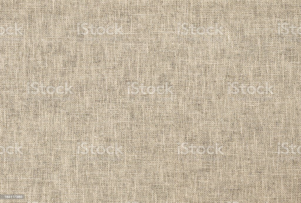 XXL Beige linen texture stock photo