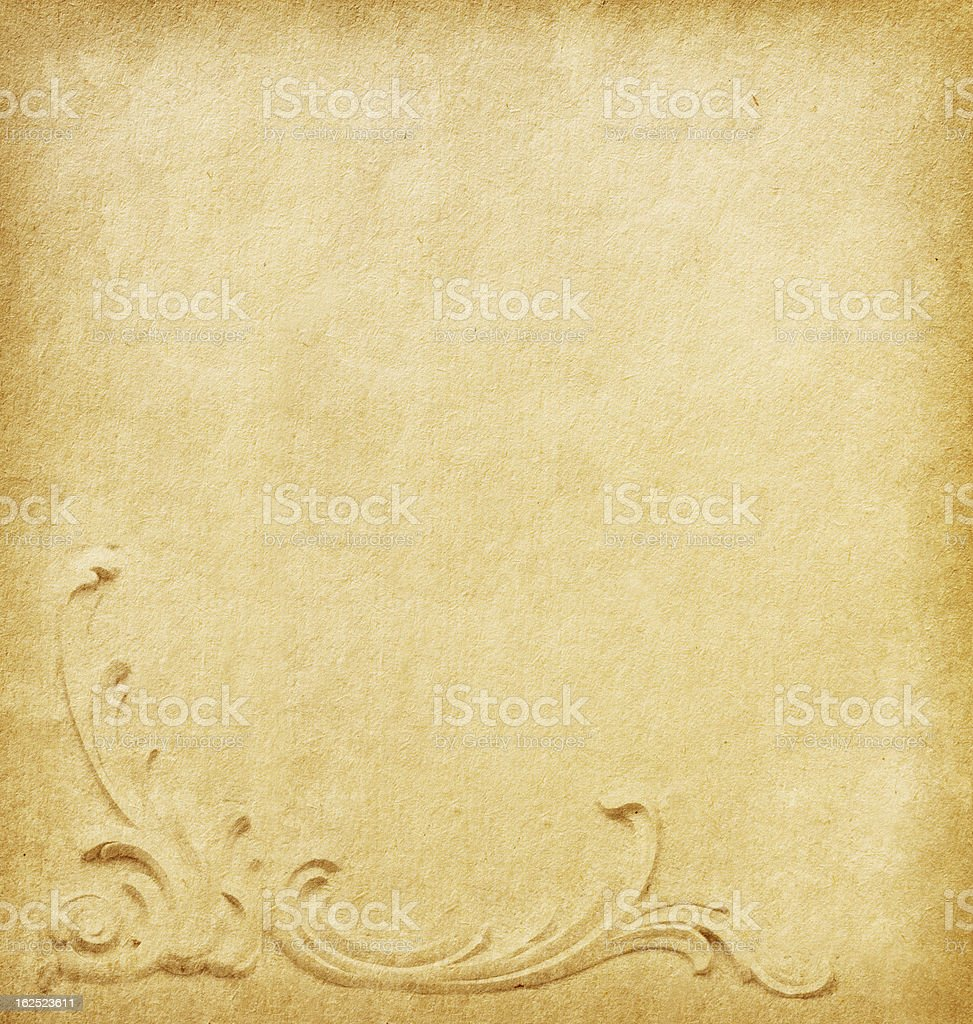 Beige  paper royalty-free stock photo