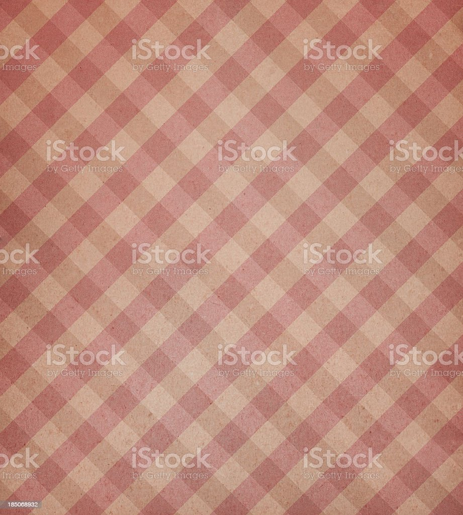 beige paper with plaid pattern royalty-free stock photo