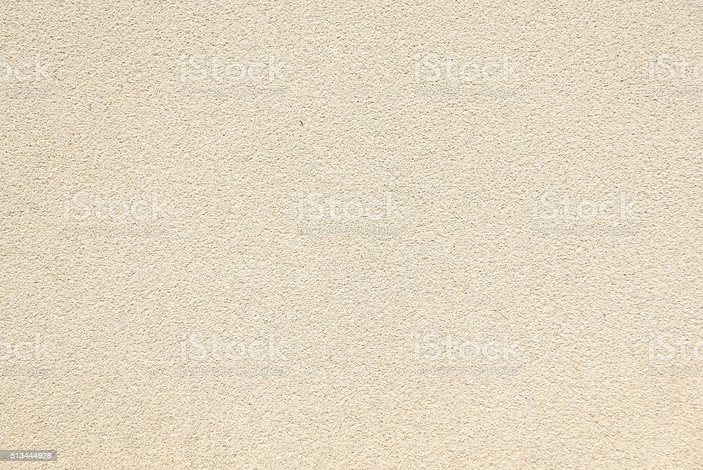 Beige plaster wall texture background stock photo